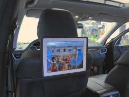 Mercedes iPad Rear Entertainment System Installation