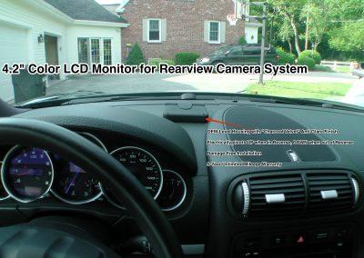 Rear Camera Installation Porsche