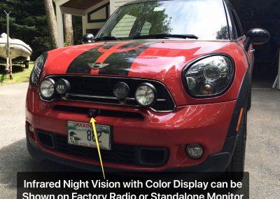 Infared Night Vision Mini Cooper