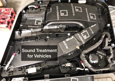 Sound Treatment for Vehicles