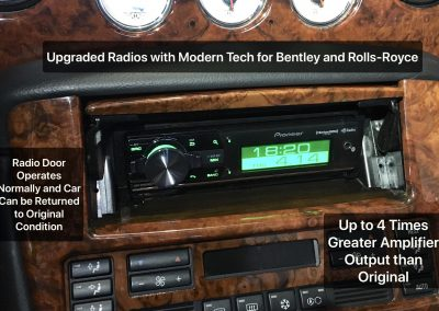Bentley and Rolls Royce Stereo Upgrades