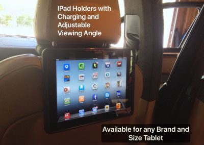Ipad Holder Installation in Vehicle With Charging
