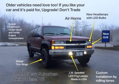 Upgrade Older Vehicles with Lighting Trim Stereo Installation