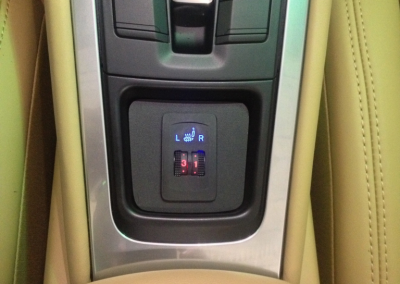 Porsche Heated Seat Installation