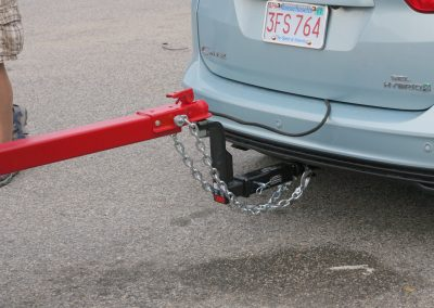 Tow Receiver Hitch Installation