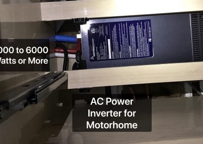 AC Power Inverter Install in Motorhome