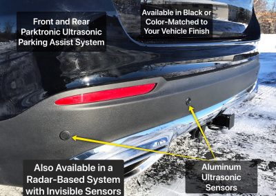 Front and Rear Parking Assist System Installation