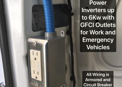 Power Inverter Installation for Emergency Vehicles