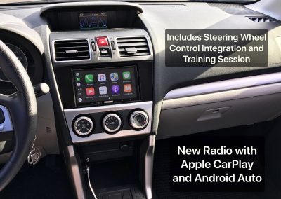 Apple CarPlay and Android Auto Installation with Steering Wheel Integration